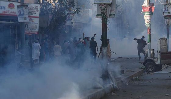 کراچی: TLP رہنماؤں کی فہرست جاری، 150 گرفتار