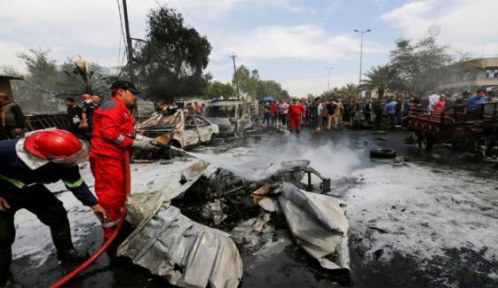 عراق: بغداد میں کار بم دھماکا، 4 افراد جاں بحق، 17 زخمی