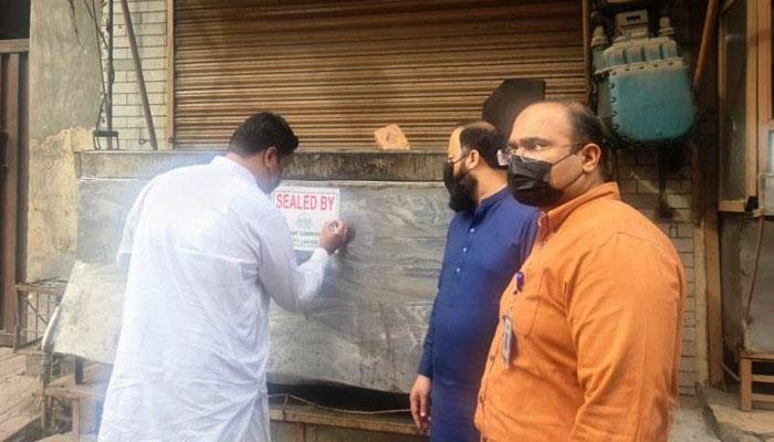 اسلام آباد: کورونا SOPs کی خلاف ورزی پر کارروائیاں جاری