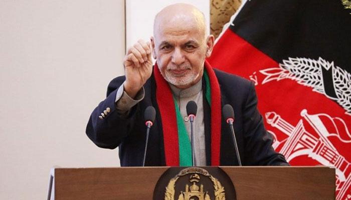 امریکی فوج کے انخلا اعلان سے افغان حکومت کو کوئی خطرہ نہیں، اشرف غنی