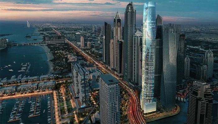 دبئی: دنیا کے سب سے اونچے ہوٹل کی تعیمر مکمل