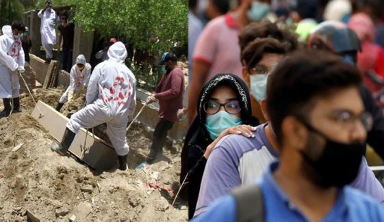 پاکستان: کورونا وائرس سے مزید 110 مریض فوت
