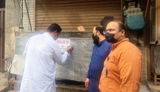 اسلام آباد،SOPs کی خلاف ورزی پر 16 افراد گرفتار