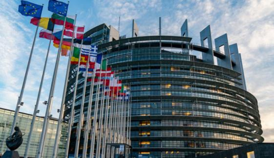 یورپی پارلیمنٹ کا یورپی یونین سے  پاک بھارت تعلقات کی بحالی کیلئے کوشش کا مطالبہ