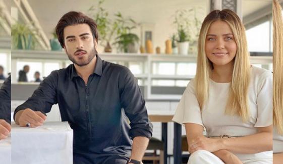 عمران عباس اور ترک اداکارہ میں دوستی بڑھنے لگی