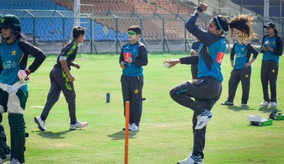 پاکستان ویمنز کرکٹ ٹیم کے تربیتی کیمپ کیلئے 26 کھلاڑیوں کا اعلان
