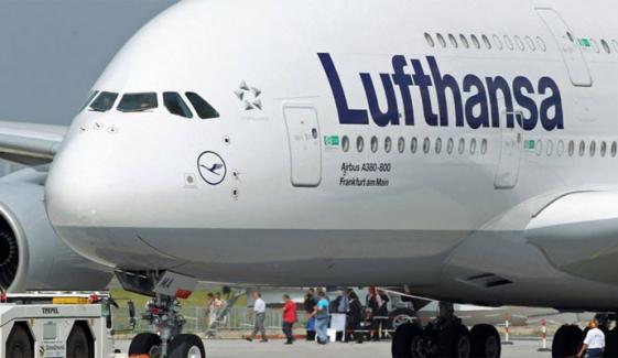 جرمنی: طیارے میں ماسک نہ پہننے، ہنگامہ کرنے پر 6 اسرائیلی گرفتار