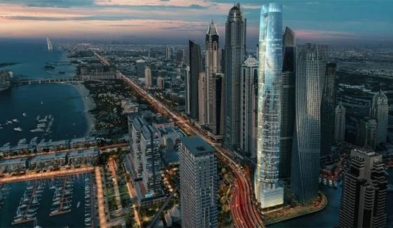 دبئی: دنیا کے سب سے اونچے ہوٹل کی تعمیر مکمل