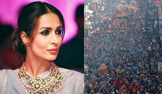 عالمی وبا، کمبھ میلے میں یاتریوں کے ہجوم پر ملائیکہ اروڑا کی تشویش