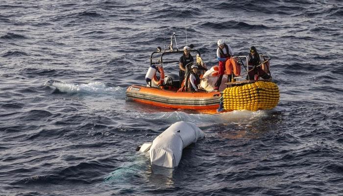 تیونس : ساحل میں کشتی ڈوبنے سے 41 افراد جاں بحق