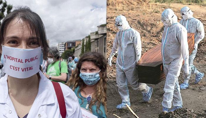 دنیا: کورونا وائرس کیسز 14 کروڑ، اموات 30 لاکھ سے متجاوز