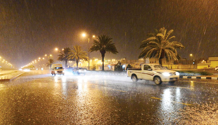 مکہ مکرمہ اور گردونواح میں ہلکی بارش، موسم خوشگوار