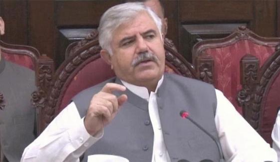وزیراعلیٰ کے پی نے استعفے منظور کرلیے