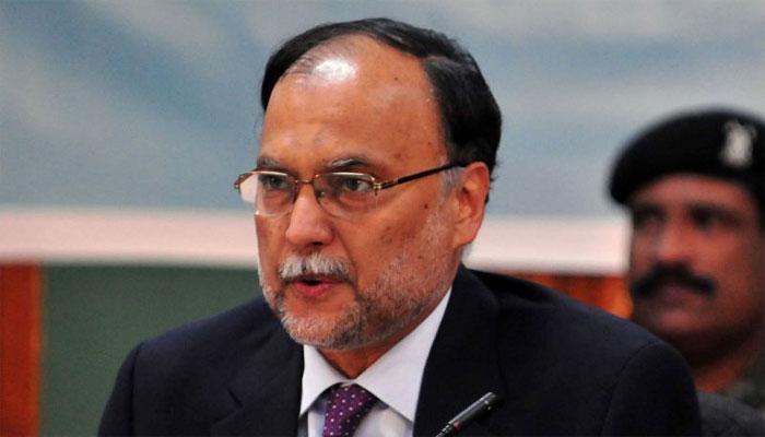 ہماری بھارت سے سفارتکاری پر الزام تراشی کی گئی: احسن اقبال