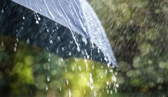 پشاور میں آج چوتھے روز بھی بارش جاری