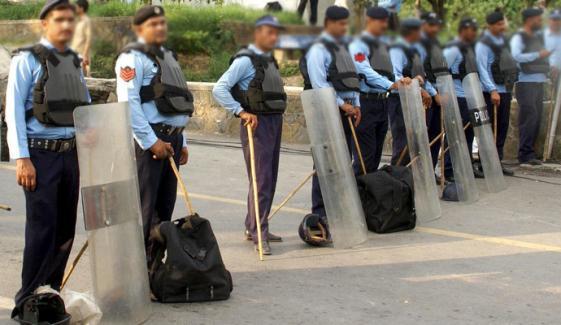 اسلام آباد پولیس نے سیکیورٹی ہائی الرٹ جاری کردیا