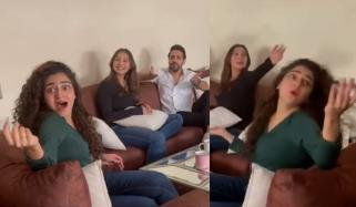آمنہ الیاس اور ہاجرہ یامین کی دلچسپ ویڈیو وائرل