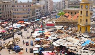 کمشنر کراچی کی منافع خوروں کیخلاف کارروائی، جرمانے عائد