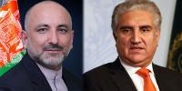 شاہ محمود سے افغان ہم منصب کا ٹیلیفونک رابطہ