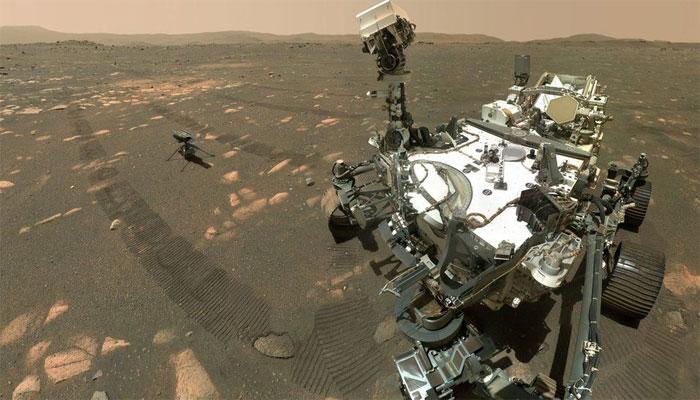 ناسا کے منی ایچر روبوٹ ہیلی کاپٹر انجینیوٹی کی مریخ کی سر زمین پر  تاریخ ساز پرواز