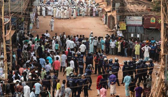 بنگلا دیش: پولیس کی مظاہرین پر فائرنگ، 5 افراد ہلاک