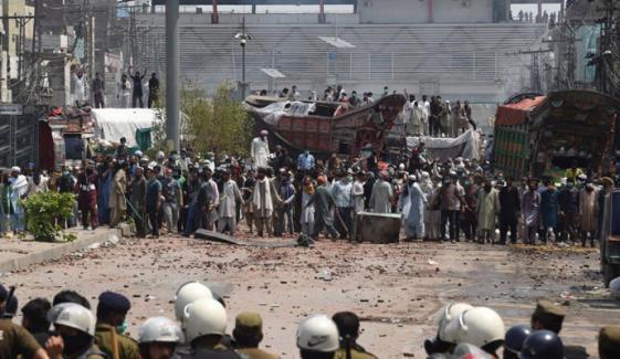 لاہور : تھانہ نواں کوٹ پر حملے، اہلکاروں کے اغواء کامقدمہ درج