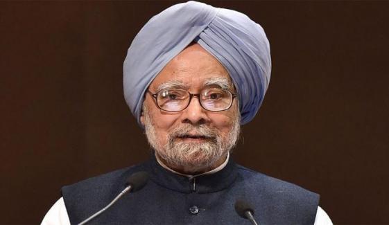 سابق بھارتی وزیراعظم منموہن سنگھ کورونا میں مبتلا