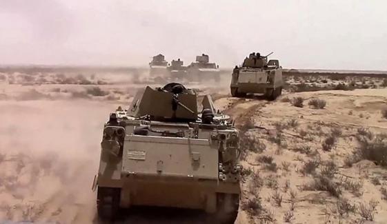 مصر: شمالی سینائی میں شدت پسندوں کیخلاف کارروائی، 3 ہلاک
