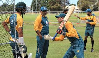 پاکستان کرکٹ ٹیم کا ہرارے میں ٹریننگ کا آغاز