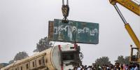 مصر، ٹرین حادثے میں ہلاکتیں 16 ہوگئیں