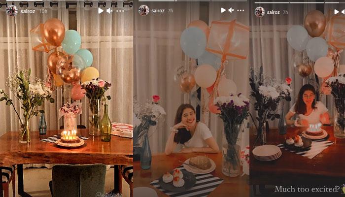 سائرہ یوسف کا اپنی سالگرہ پر منفرد پیغام