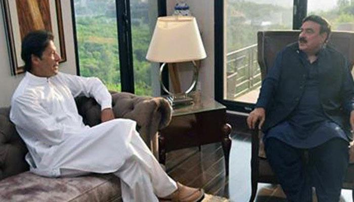 وزیراعظم کی کامیاب مذاکرات  پر شیخ رشید کو مبارکباد، ذرائع