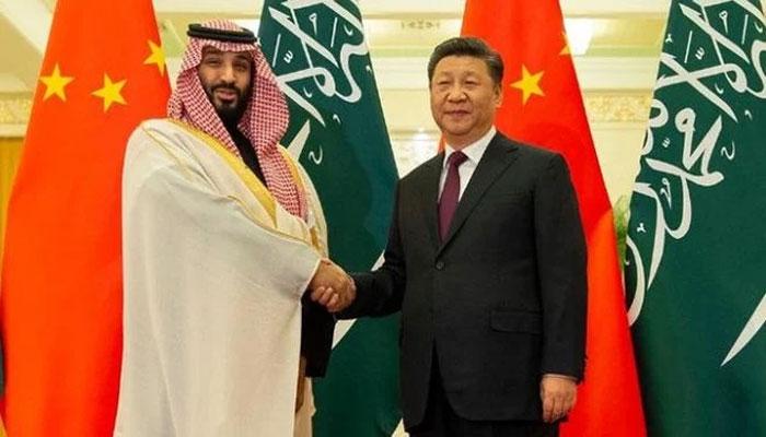 سعودی ولی عہد اور چینی صدر کے درمیان ٹیلی فونک رابطہ