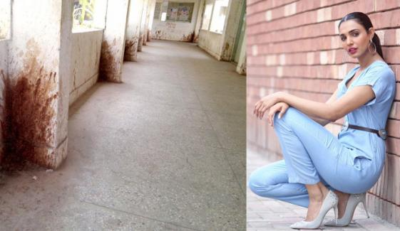 آمنہ الیاس نے کراچی کے ایک مسئلے پر ویڈیو بنادی