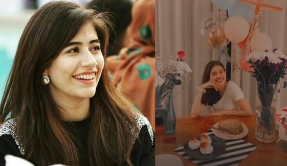 سائرہ یوسف کا خود کو سالگرہ پر پیغام
