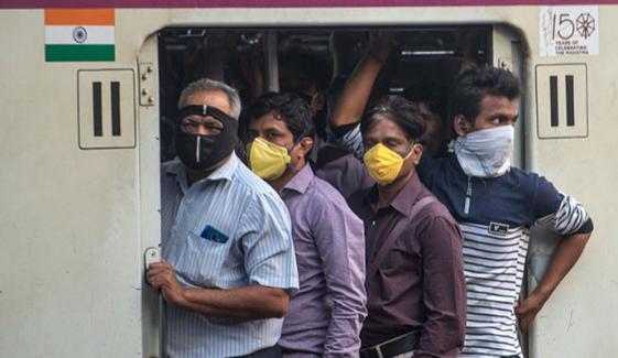 بھارت، ٹرین کے 90 ڈرائیورز اور گارڈز کے کورونا ٹیسٹ مثبت آگئے
