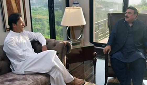 وزیراعظم کی کامیاب مذاکرات پر شیخ رشید کو مبارکباد