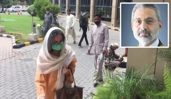 جسٹس فائز کی اہلیہ سرینا دلائل دیتے ہوئے آبدیدہ ہو گئیں