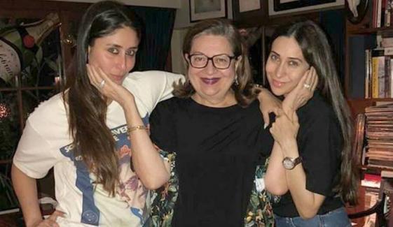کرینہ کپور کا والدہ کی سالگرہ پر محبت بھرا پیغام