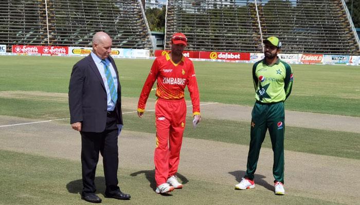 زمبابوے کا پاکستان کیخلاف فیلڈنگ کا فیصلہ