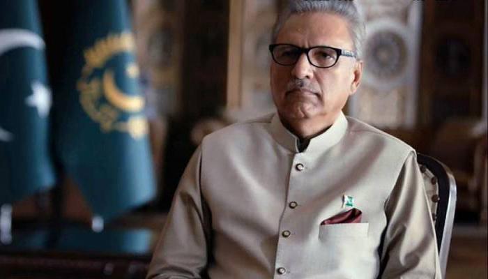 صدر مملکت کی سری لنکن بدھ راہبوں کے وفد سے ملاقات