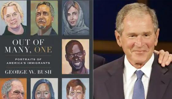 سابق امریکی صدر جارج بش کی نئی کتاب منظر عام پر آگئی