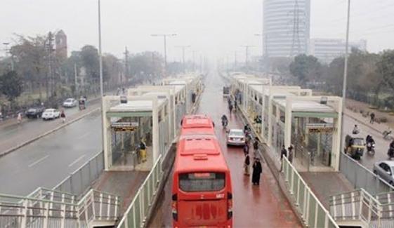 لاہور میٹرو بحال ، اورنج ٹرین تاحال بند