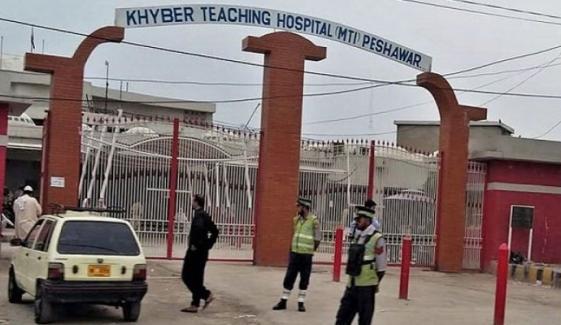 پشاور: خیبر ٹیچنگ اسپتال میں بے قاعدگیوں کی شکایات
