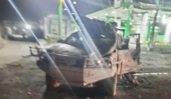 کابل میں خودکش دھماکا، سیکیورٹی فورسز کے اہلکار سمیت 9 افراد زخمی