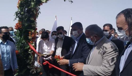 پاک ایران سرحد پر تیسری مارکیٹ کھول دی گئی