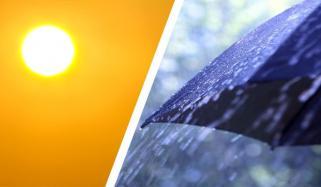 کہیں بارش سے موسم خوش گوار، کہیں ہلکی گرمی