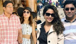 بھارتی اداکارہ حنا خان کے والد انتقال کرگئے