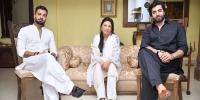سکینہ سموں، سہریار منور اور اسد صدیقی کی معترف