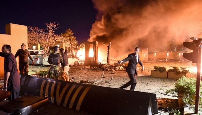 کوئٹہ دھماکہ: جاں بحق افراد کی تعداد 5 ہو گئی